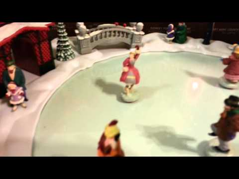 Mr Christmas holiday skaters on Lenyvintagegames