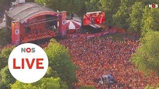 LIVE: De huldiging van Oranje