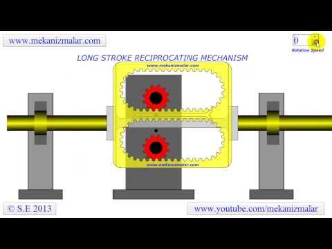 Long Stroke Reciprocating Mechanism