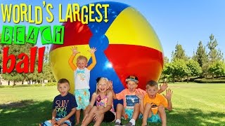WORLD'S LARGEST BEACH BALL!!!