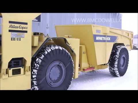 McDowell Equipment - Atlas Copco MT2010 Mining Truck
