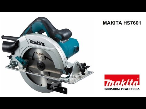 Дисковая пила Makita HS7601.  Новинка 2015 года!  Замена легендарной 5704R