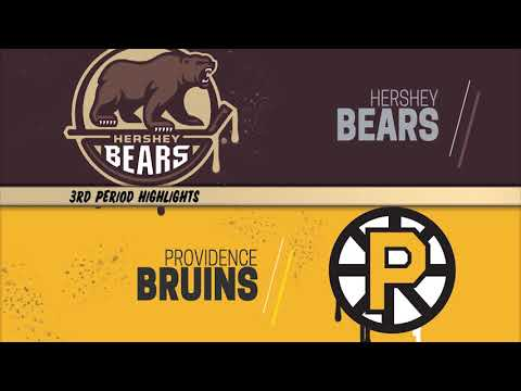 Hershey Bears 2 at Providence Bruins 3 - SO (3/8/2020)
