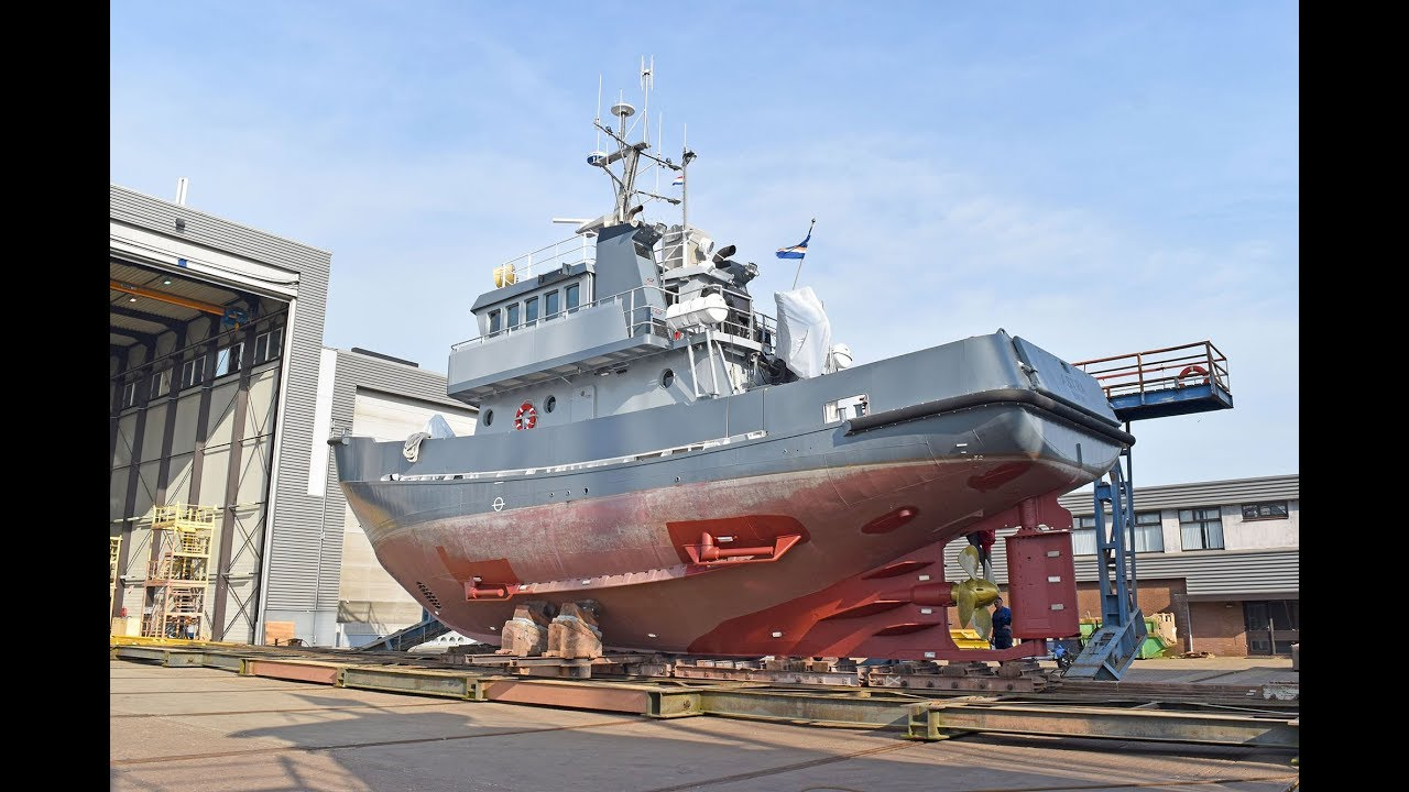 Converted rescue vessel ASTRA, stabilizers, AC, CE, Ice breaker full version
