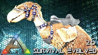 ARK: ABERRATION MODDED - NEW ABERRANT TERROR BIRD TAMING !!! E26 ( GAMEPLAY ARK: SURVIVAL EVOLVED )