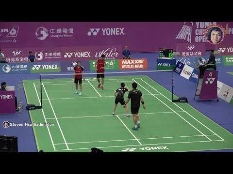 20190903Taipei Open XD KO Sung Hyun+EOM Hye Won(KOR)vs YANG Po-Hsuan+HU Ling Fang(TPE)
