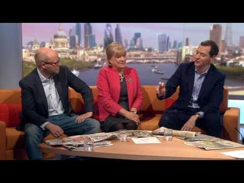 General election 2017: 'May is dead woman walking' - Osborne
