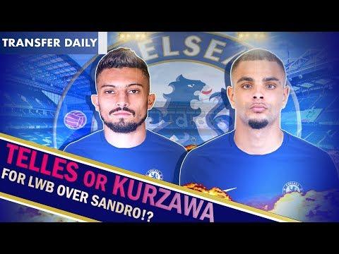 Chelsea January Transfer News || Marina targets TELLES or KURZAWA over Sandro? || No Ambition FC ?