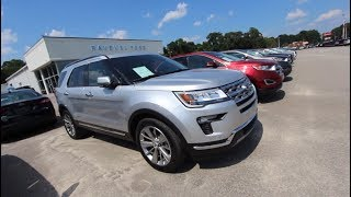 The 2018 Ford Explorer Limited | For Sale Review @ Ravenel Ford | July 2018