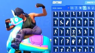 YEE HAW! SKIN SHOWCASE WITH ALL FORTNITE DANCES & EMOTES