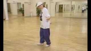 Брейк-данс: Обучающее видео по локингу часть 1(Оля - преподаватель школы брейк-данса Волнорез (www.volnorez.ru) - объясняет основы стиля локинг., 2008-12-23T02:50:38.000Z)
