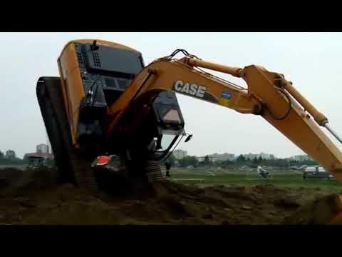 Increíble Habilidad De Trabajo Con Excavadora