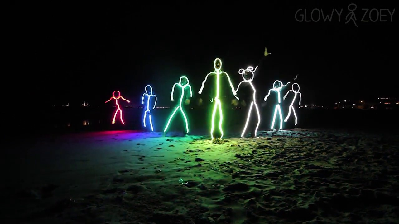 Halloween Costume Outfit The LED StickMan