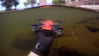Found Drone Underwater in River While Scuba Diving! (w/ Girlfriend) | DALLMYD