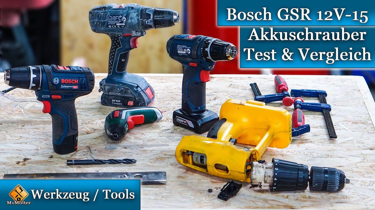 Bosch Gsr 12v 15 Mein Neuer Akkuschrauber Test Und Vergleich