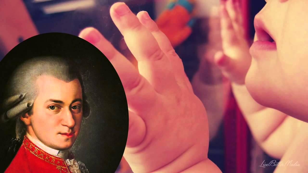 Música clássica para bebês para estimular a inteligência - Mozart para bebe  - YouTube