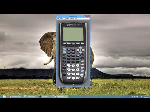 Get a TI-84 Calculator on Your PC/Mac for FREE!! (HD)