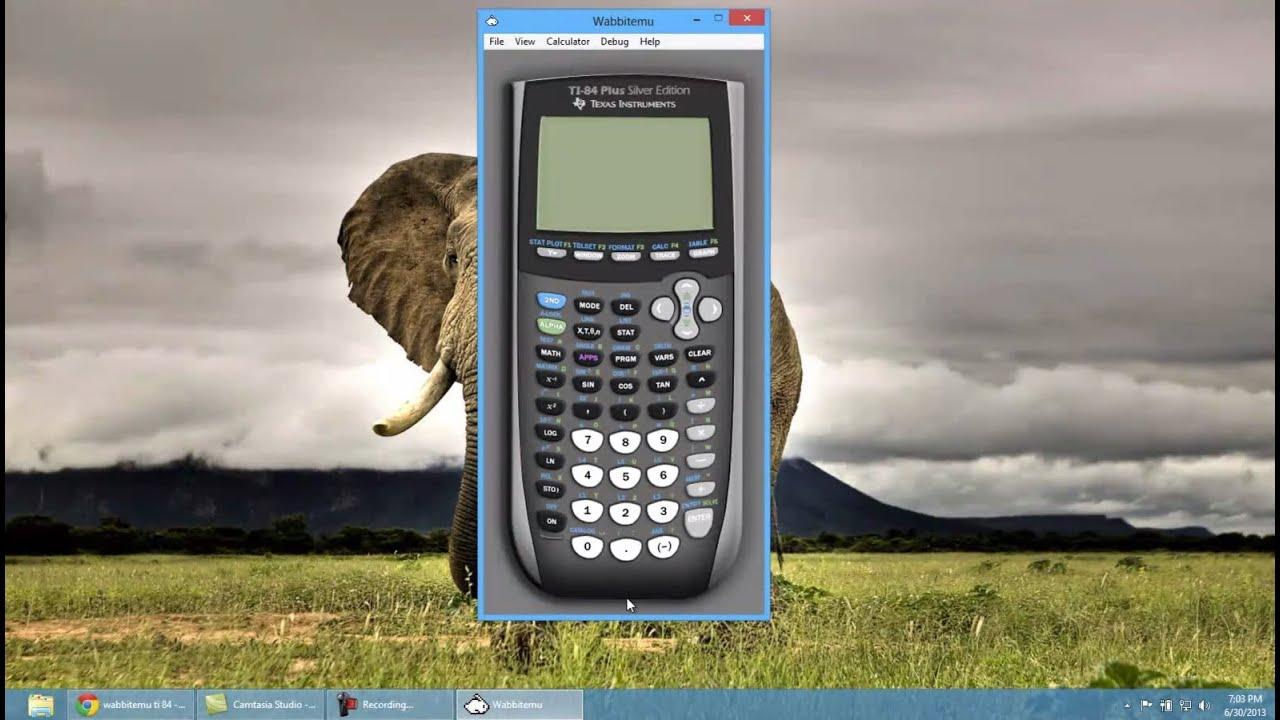 Interactive ti 83 calculator.