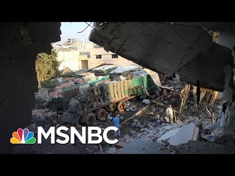 United Nations Suspends Aid Convoys In Syria Following Attack | Morning Joe | MSNBC