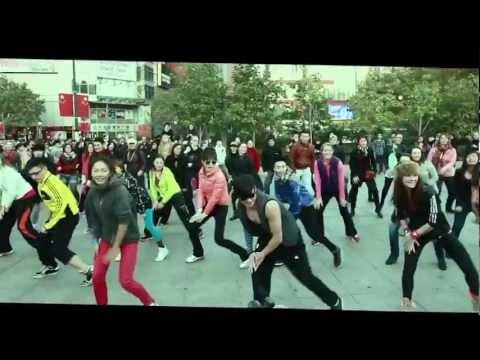 Zumba Shanghai Gangnam FlashMob