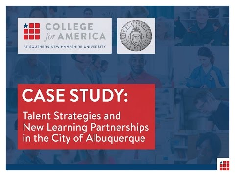 Talent Strategies and New Learning Strategies in the City of Albuquerque