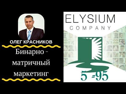 Elysium Company - Бинарно - матричный маркетинг #redex #bitcoin step #1-9-90