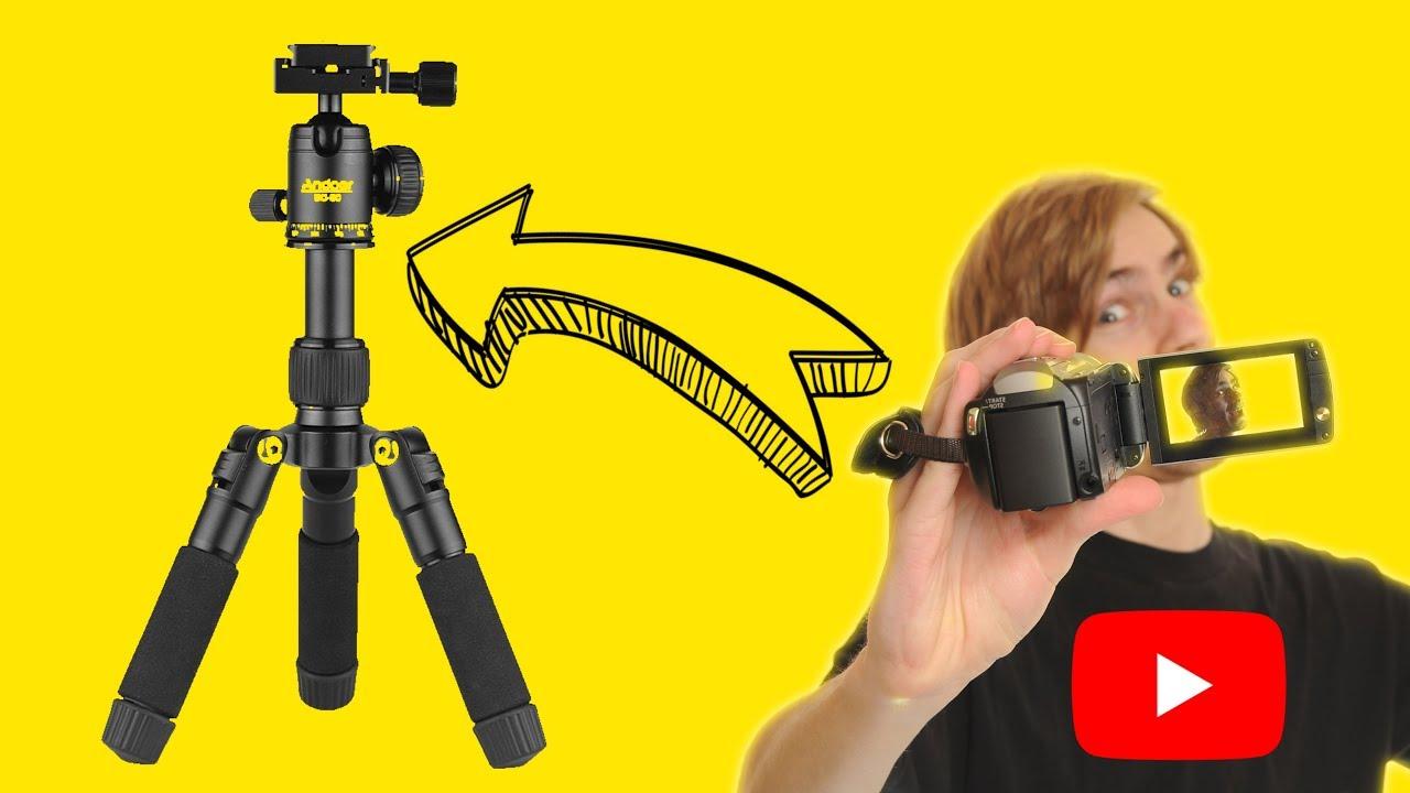 Negro igadgitz Flexibles Peque/ño Mini Tr/ípode de Mesa para Nikon C/ámara Compacta Digital con Clip de Bolsillo