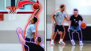 1v1 vs JALEN SUGGS (HS All-American & Top Recruit) -- IRL Basketball