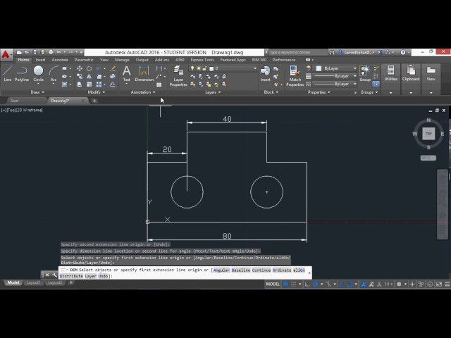 Autocad 2016 proje çizimi ( teknik resim okuma)
