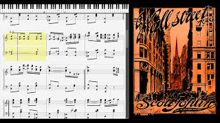 Wall Street Rag by Scott Joplin (1909, Ragtime piano)