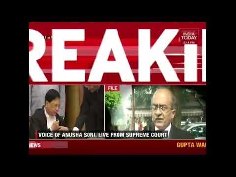 Prashant Bhushan Yells At Chief Justice Of India, Dipak Mishra In Supreme Court