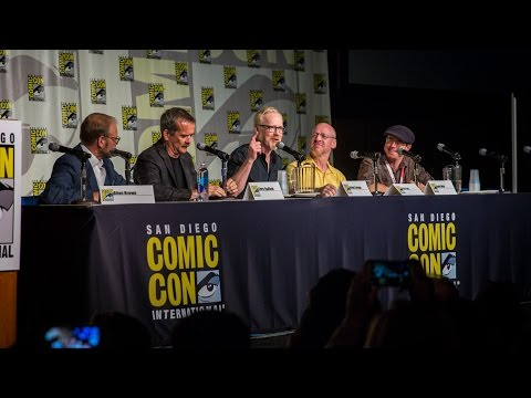Adam Savage's Comic-Con 2015 Panel (with Chris Hadfield and Alton Brown!)