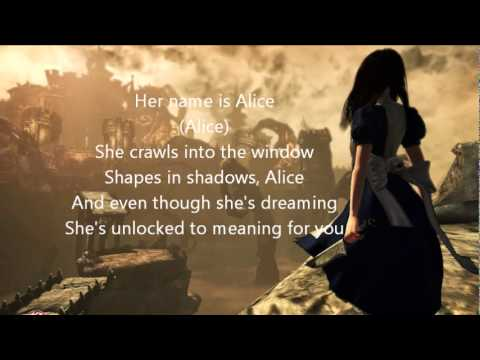 Shinedown- Her Name is Alice [lyrics]
