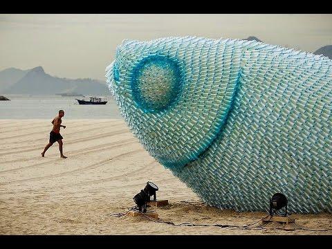 19 Wonder Plastic Bottle Sculptures