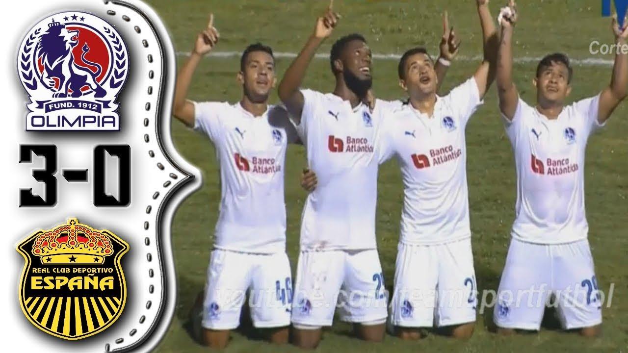 Olimpia vs Real España 3-0│Resumen Completo HD│Liga 5  Estrellas. (10-22-2017).