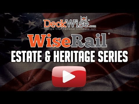 WiseRail® Cable Rail: Estate & Heritage Series