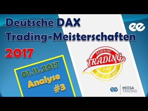 DAX Analyse 01.11.2017 - Marcus Klebe - Deutsche DAX Trading Meisterschaften