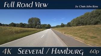 Seevetal / Hamburg, Germany: Elbdeich, Fünfhausener Hauptdeich - 4K (UHD/2160p/60p) Video