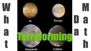 Universe Sandbox 2 - Terraforming the Moons of Jupiter (Io, Callisto, Ganymede and Europa)