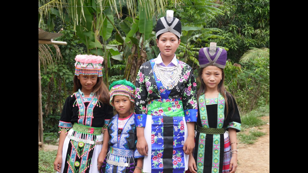Luang Namtha Laos  city photo : Slideshow Hmong Ethnic Costume 2013 Luang Namtha, Laos YouTube