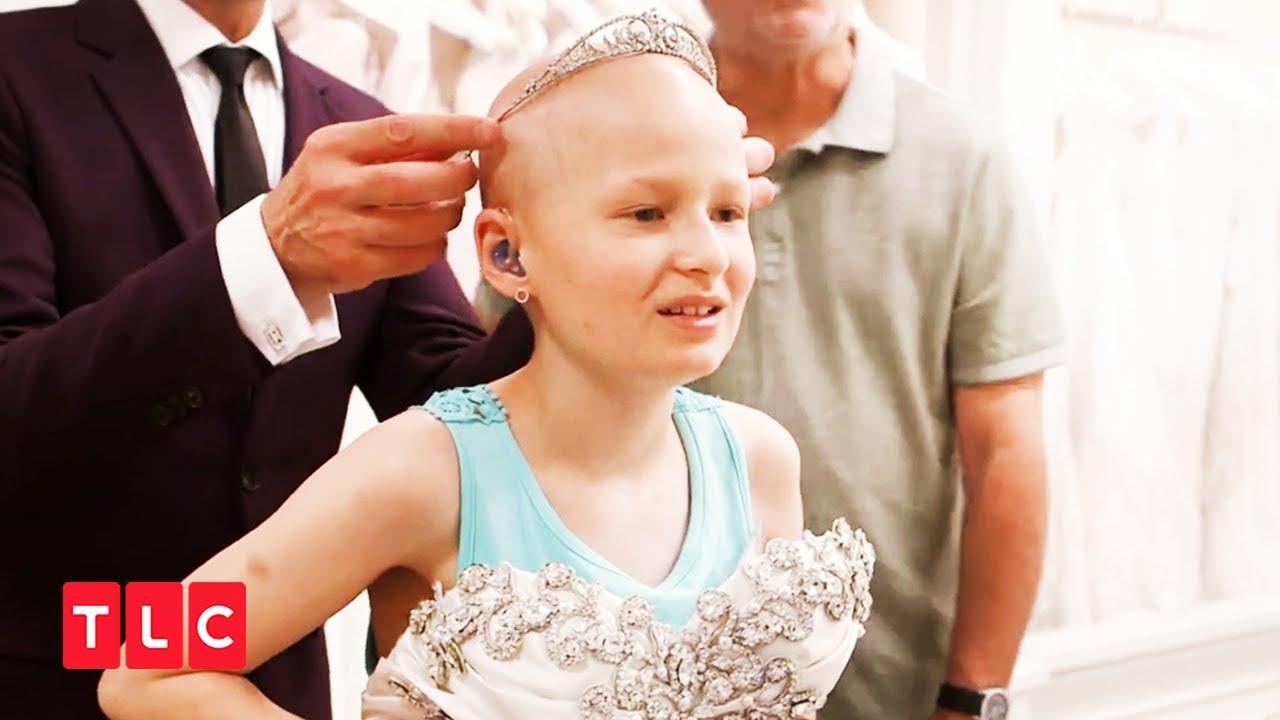 【小さなお客さま】ガン闘病中の11歳の花嫁【マイ・ドリーム・ウエディングドレス】