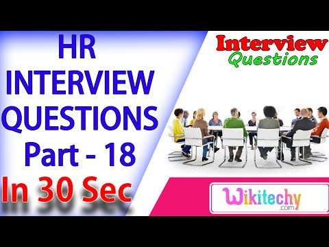How Do You Feel About Working Nights-Weekends -18 Top 10 HR Interview Questions Answers for Freshers