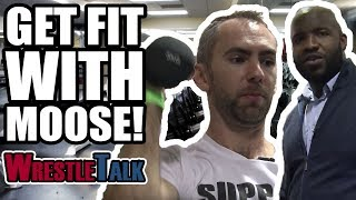 How To Get Fit With Moose From IMPACT Wrestling!