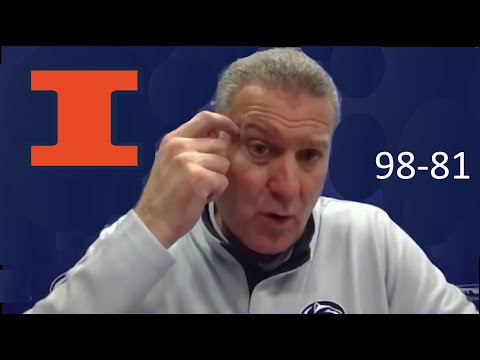 Jim Ferry - Illini postgame 2020