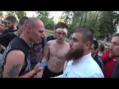 ЛЕВ ПРОТИВ - МАССОВЫЕ БЕСПОРЯДКИ в парке Горка. Деградация Молодежи.