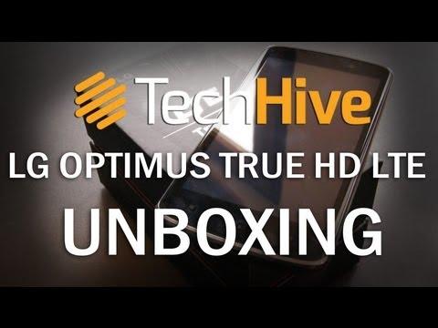 LG Optimus True HD LTE P936 Unboxing
