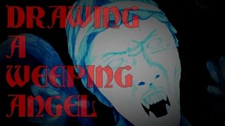 Colors! 3D #4[3DS] - Drawing a Weeping Angel