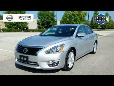 Used C475286A CPO 2015 Nissan Altima SV in Cool Springs - YouTube