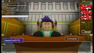 ROBLOX: Ace Attorney Chatroom - DrOMG - Gameplay nr.0276