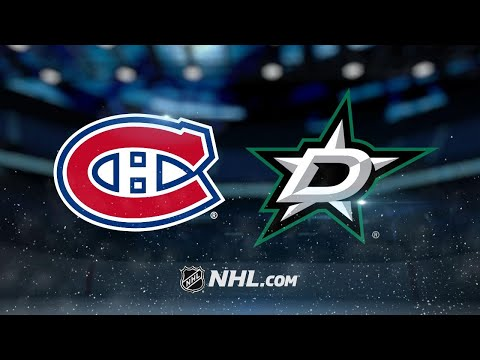 Seguin, Shore lead Stars past Canadiens, 3-1